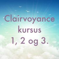 Clairvoyance kursus 3 weekender.