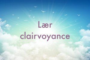 Lær clairvoyance. Lære clairvoyance.